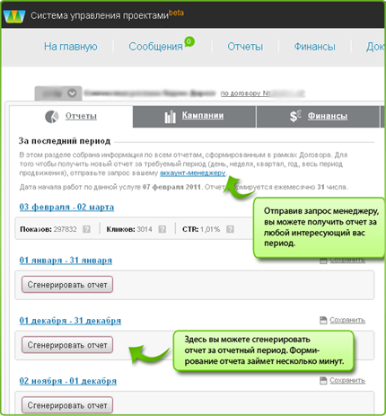 Продвижение сайта отчет пример реклама подработка в интернете